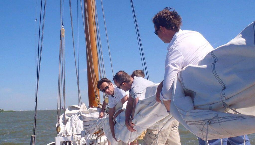 Teambuilding op het water
